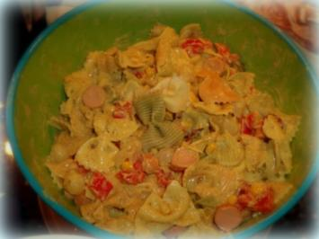 Curry-Thunfisch-Nudelsalat - Rezept