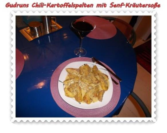 kartoffeln chili kartoffelspalten mit kr uter senf so e rezept. Black Bedroom Furniture Sets. Home Design Ideas