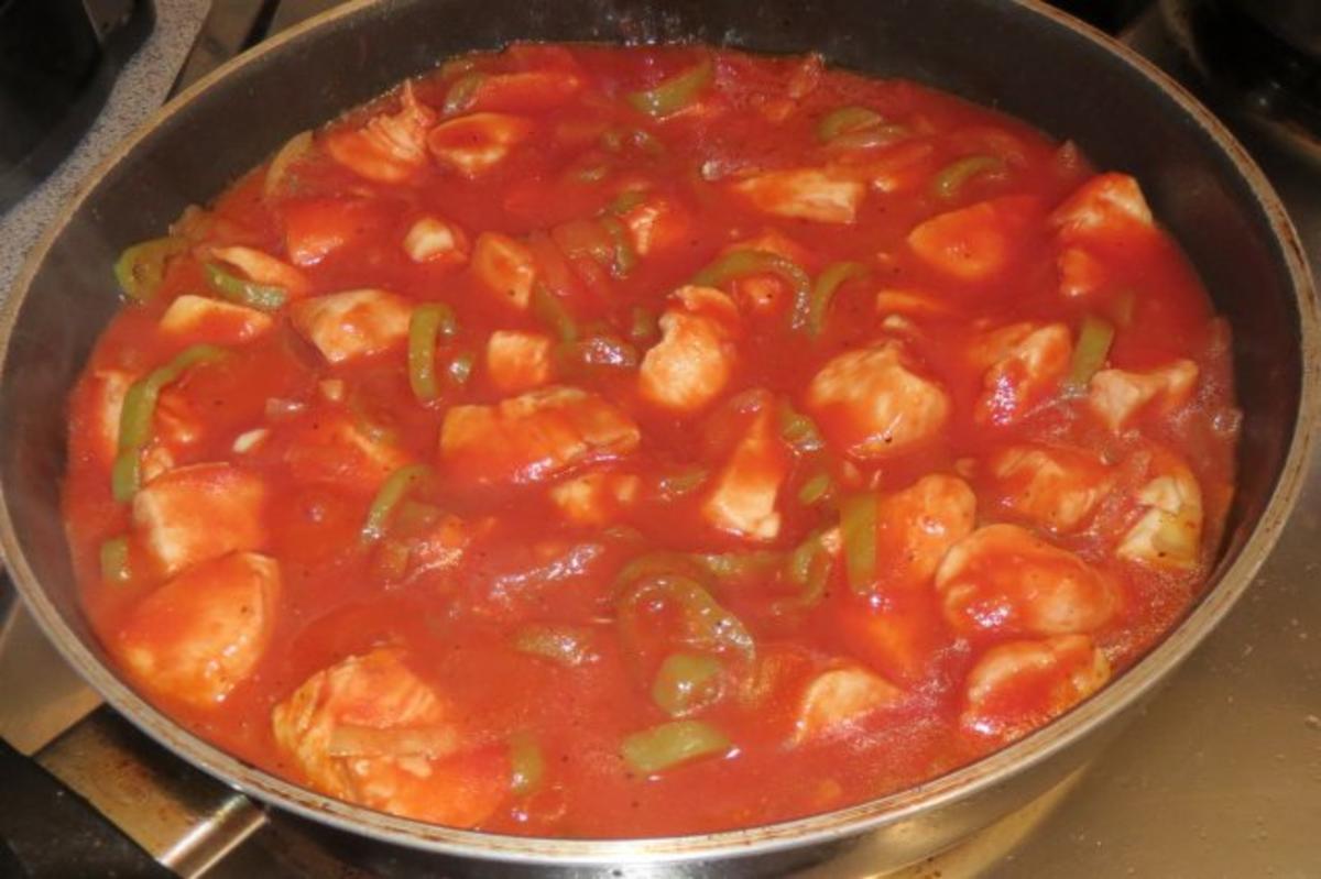 Kochen chilli h hnchen pfanne rezept for Kochen 5 personen