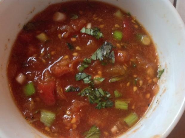 tofu mit kr uterkruste und gebackenem m hren kaki gem se dazu ein tomaten dip rezept. Black Bedroom Furniture Sets. Home Design Ideas