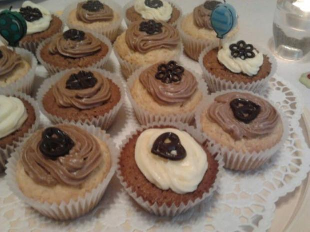 muffins mit cup cake creme rezept mit bild. Black Bedroom Furniture Sets. Home Design Ideas