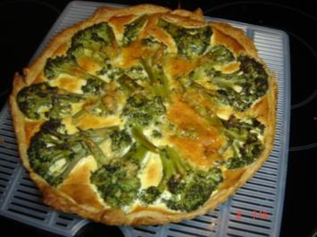 Brokkoli-Quiche - Rezept