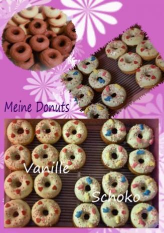 schokoladen donuts f r den donut maker rezept. Black Bedroom Furniture Sets. Home Design Ideas
