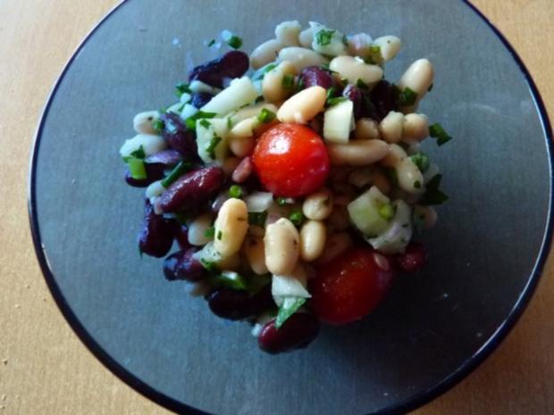salate bohnensalat rezept mit bild. Black Bedroom Furniture Sets. Home Design Ideas