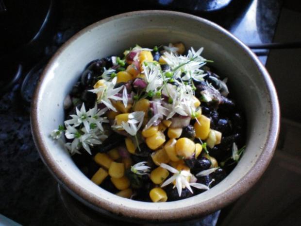 salat schwarze bohnensalat mit mais rezept. Black Bedroom Furniture Sets. Home Design Ideas