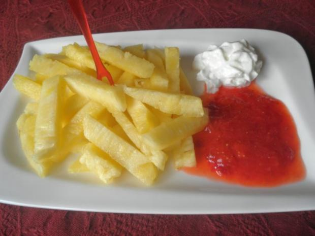 pommes mit ketchup und mayo oder wie bekommt man kinder zum obst essen rezept. Black Bedroom Furniture Sets. Home Design Ideas