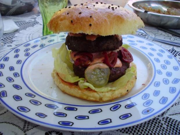 hamburger patties rezept mit bild. Black Bedroom Furniture Sets. Home Design Ideas