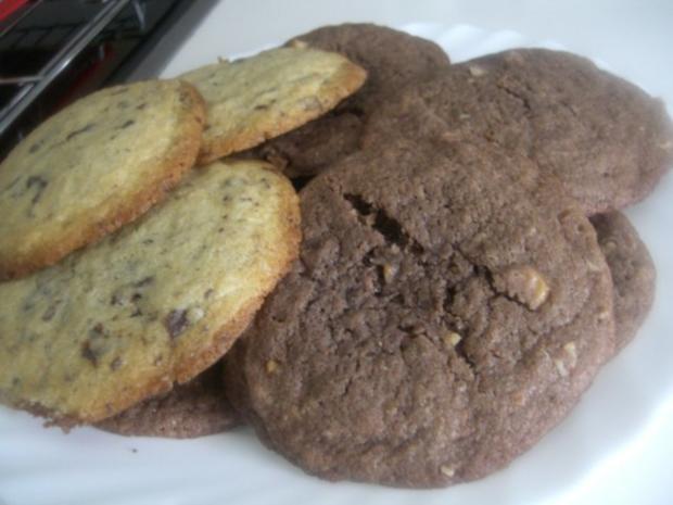 american cookies hell und dunkel rezept. Black Bedroom Furniture Sets. Home Design Ideas