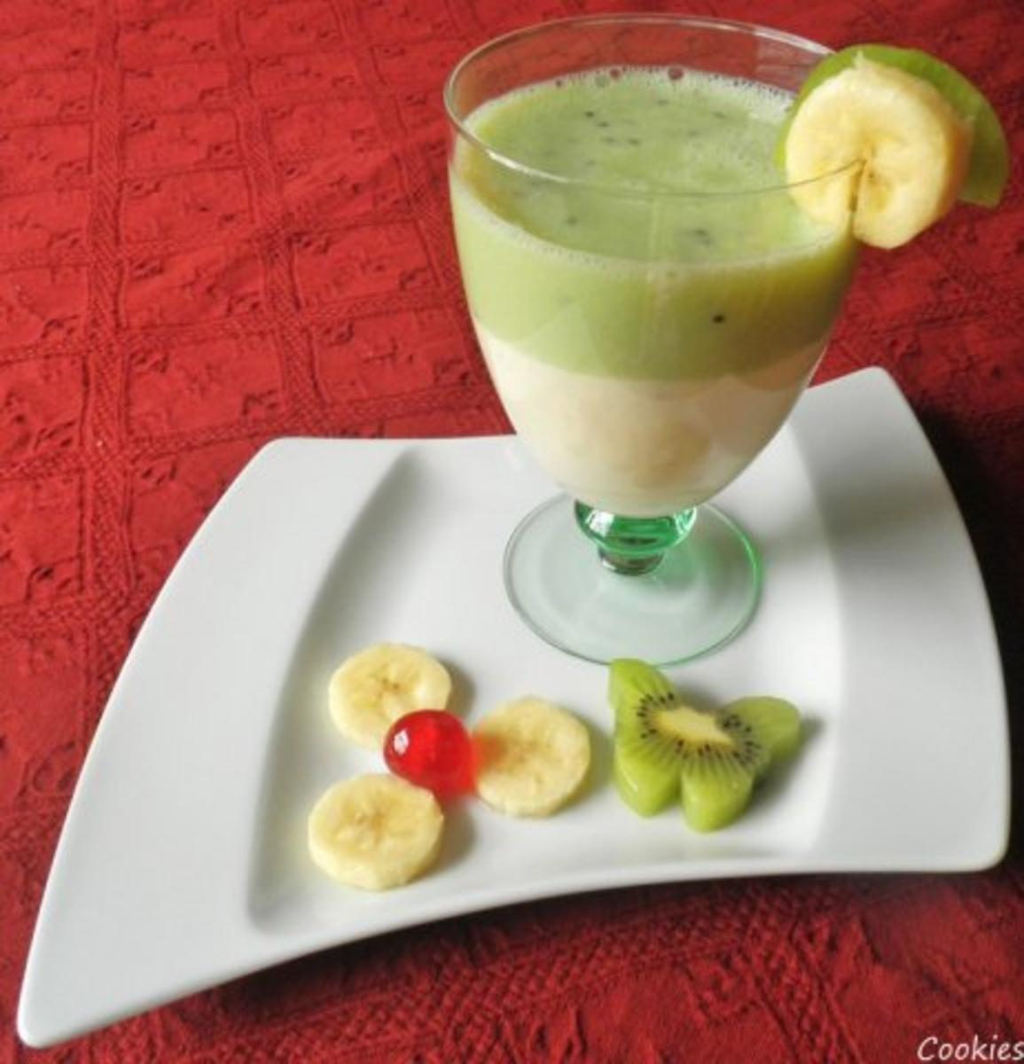 bananen kiwi smoothie rezept mit bild. Black Bedroom Furniture Sets. Home Design Ideas