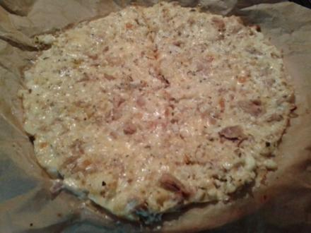 LOW CARB PIZZA - Rezept
