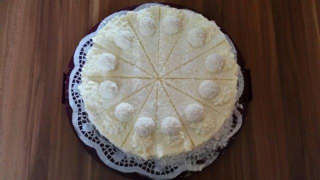 Raffaello kuchen quark