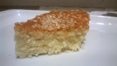 Türkischer Joghurt-Kuchen mit Sesam - Rezept