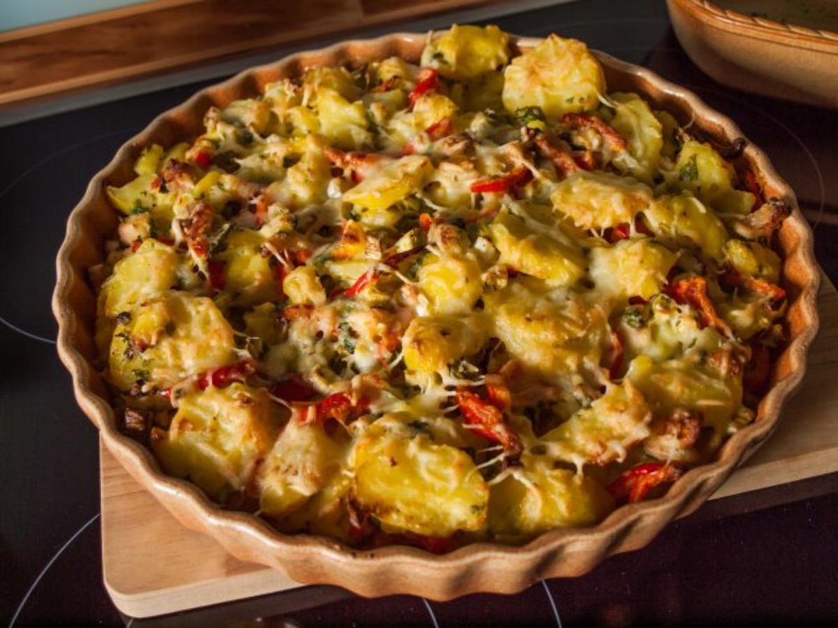 Salat Kartoffelsalat im Herbst  Rezept  kochbarde