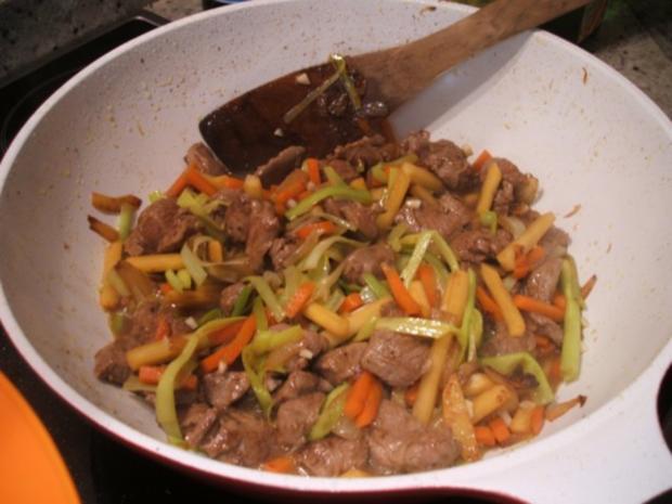 fleisch lamm und gem se aus dem wok rezept. Black Bedroom Furniture Sets. Home Design Ideas