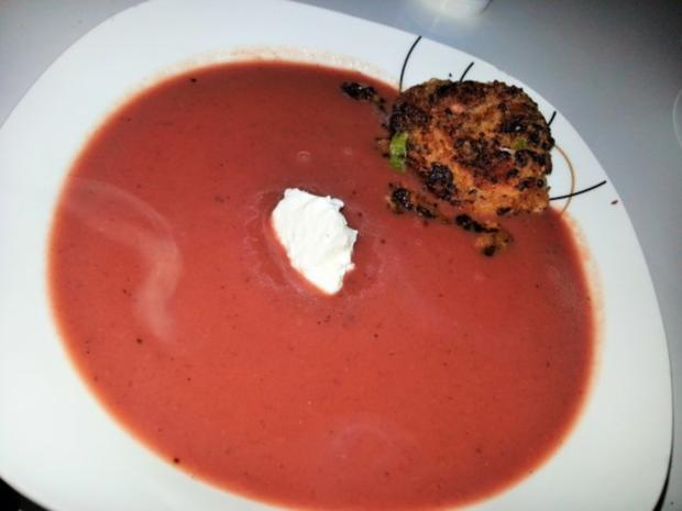 winterliche rote bete suppe rezept mit bild. Black Bedroom Furniture Sets. Home Design Ideas