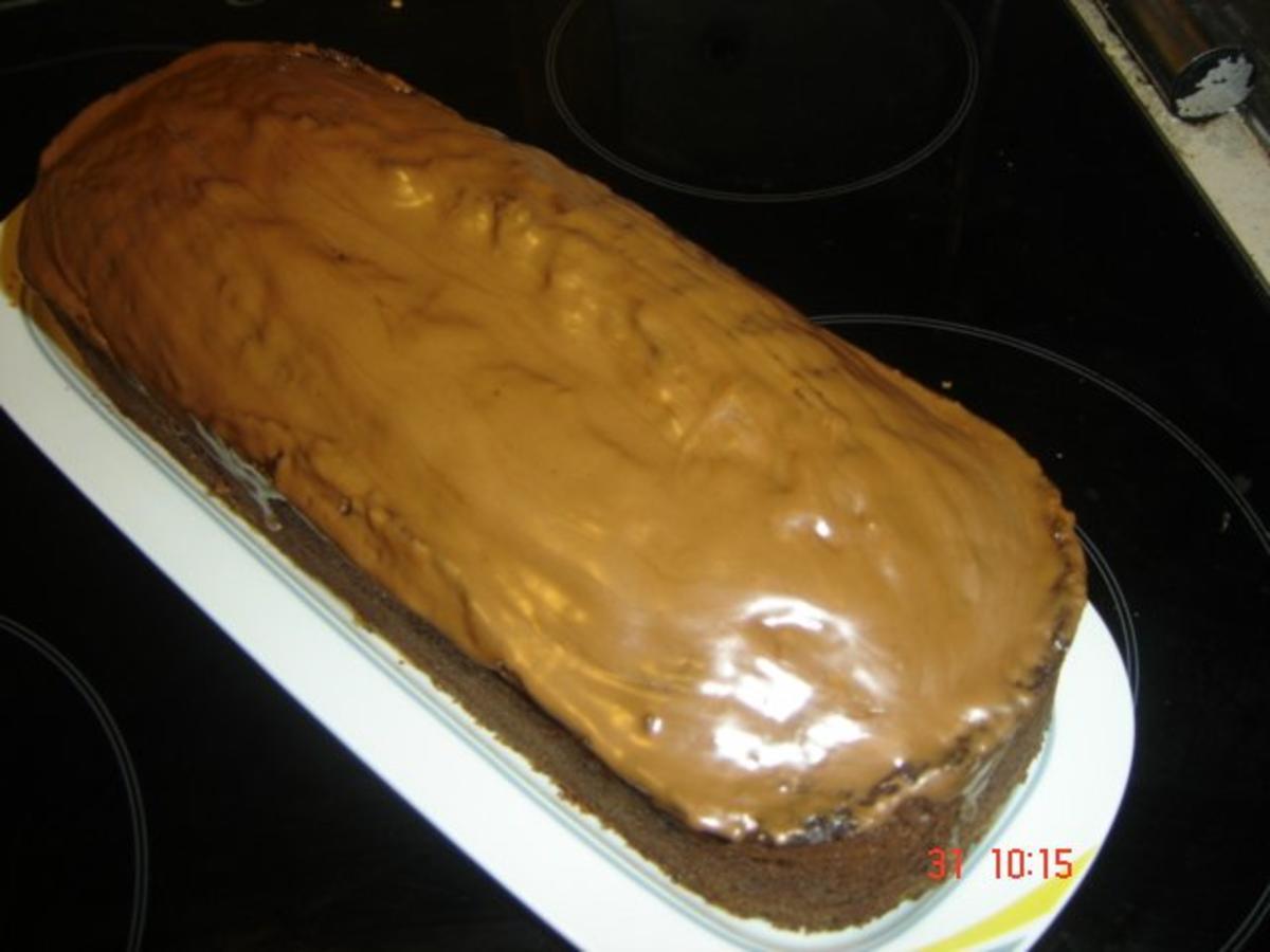 schoko nuss karamell kuchen rezept mit bild. Black Bedroom Furniture Sets. Home Design Ideas