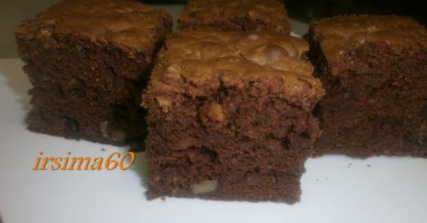 brownies mit waln ssen rezept mit bild. Black Bedroom Furniture Sets. Home Design Ideas