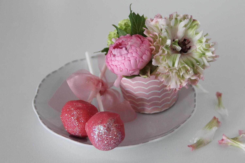 cake pops rosa rezept mit bild. Black Bedroom Furniture Sets. Home Design Ideas