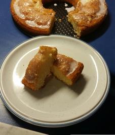 Kuchenglasur mit puderzucker