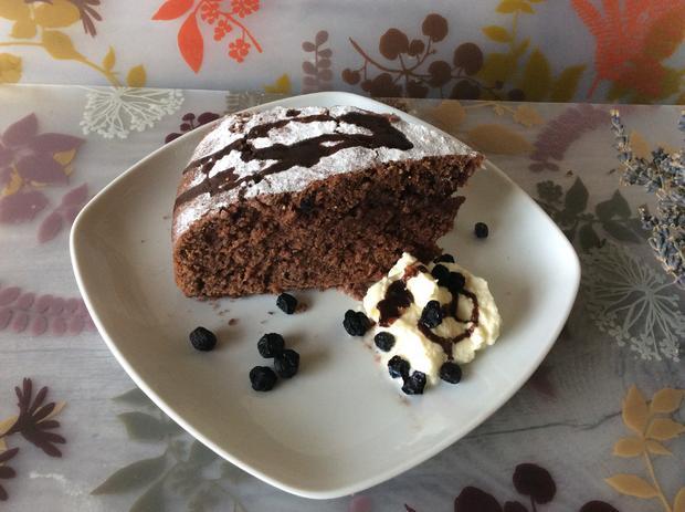 Schoko amaranth kuchen mit aroniabeeren rezept for Kuchen mit bild