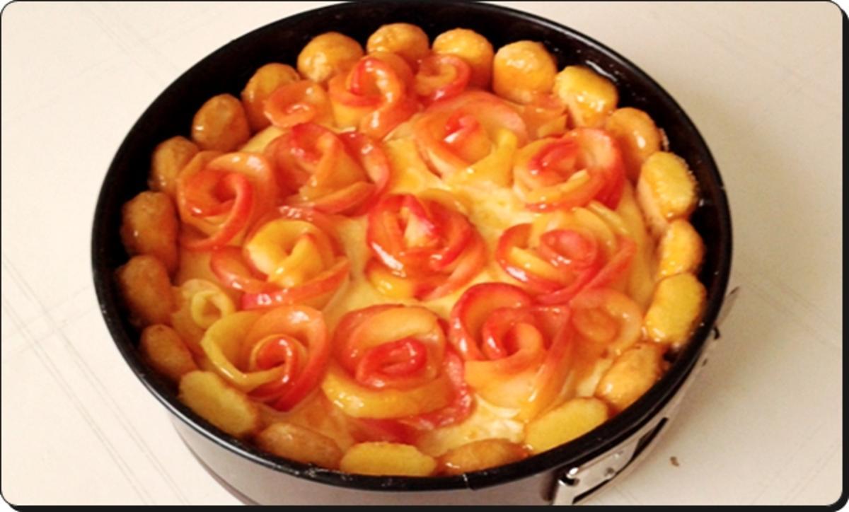 Apfelrosen kuchen rezepte