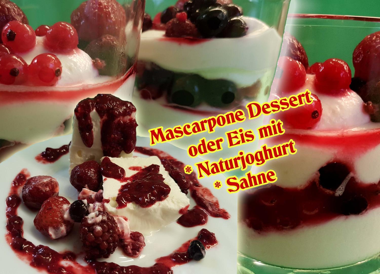 mazu12 mascarpone dessert oder eis rezept. Black Bedroom Furniture Sets. Home Design Ideas