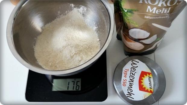Kokos kuchen kokosmehl