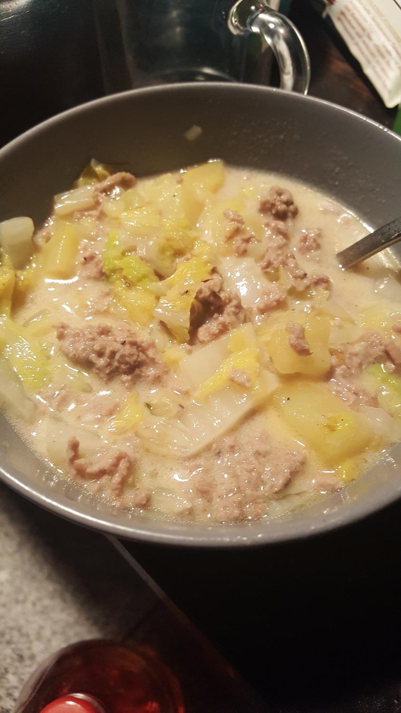 Chinakohl eintopf mit hackfleisch rezept for Kochen mit hackfleisch