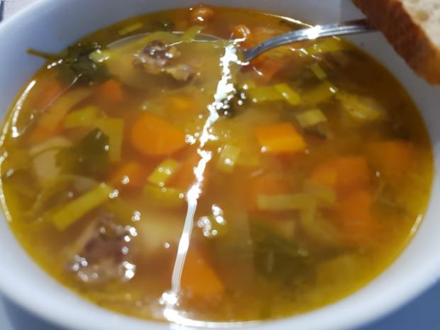 0367 meine suppen rindfleischsuppe gegen erk ltung auf vorrat gekocht rezept. Black Bedroom Furniture Sets. Home Design Ideas