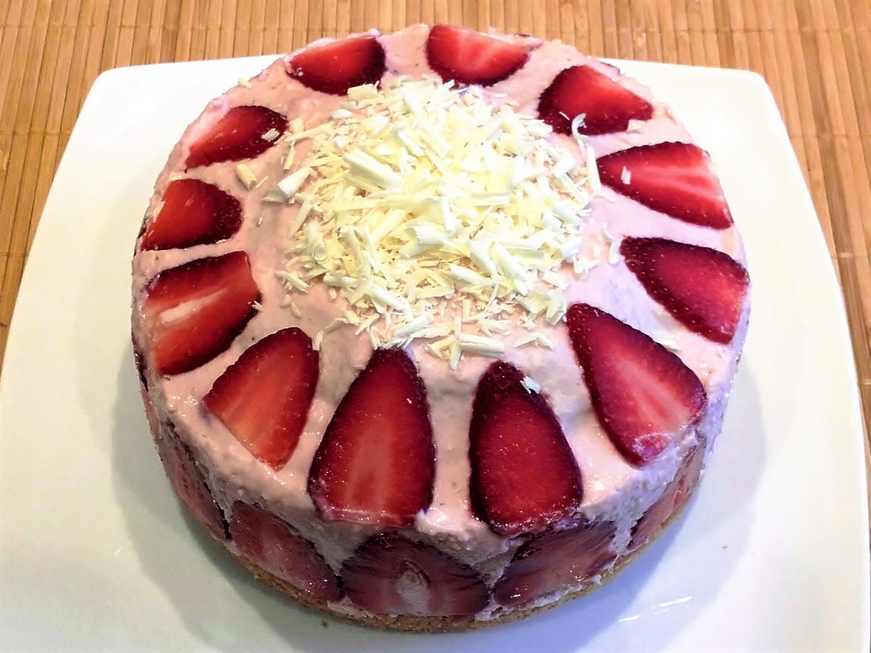 Kleine erdbeer mascarpone torte rezept bild nr 2787
