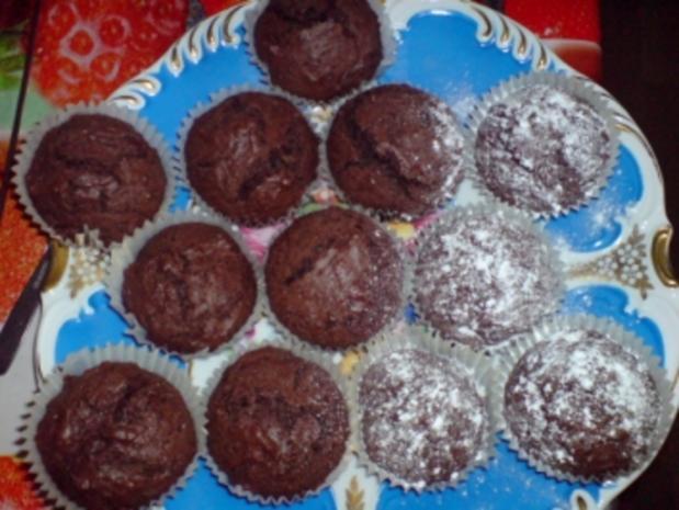 schokoladen muffins rezept mit bild. Black Bedroom Furniture Sets. Home Design Ideas