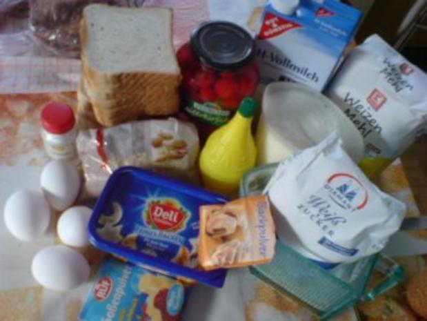 Kirschmichel Mit Br 246 Tchen Oder 10 12 Scheiben Toastbrot Und Milch Rezept Mit Bild Kochbar De