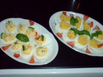 16 gef llte eier mit kaviar rezepte - Eier hart kochen dauer ...