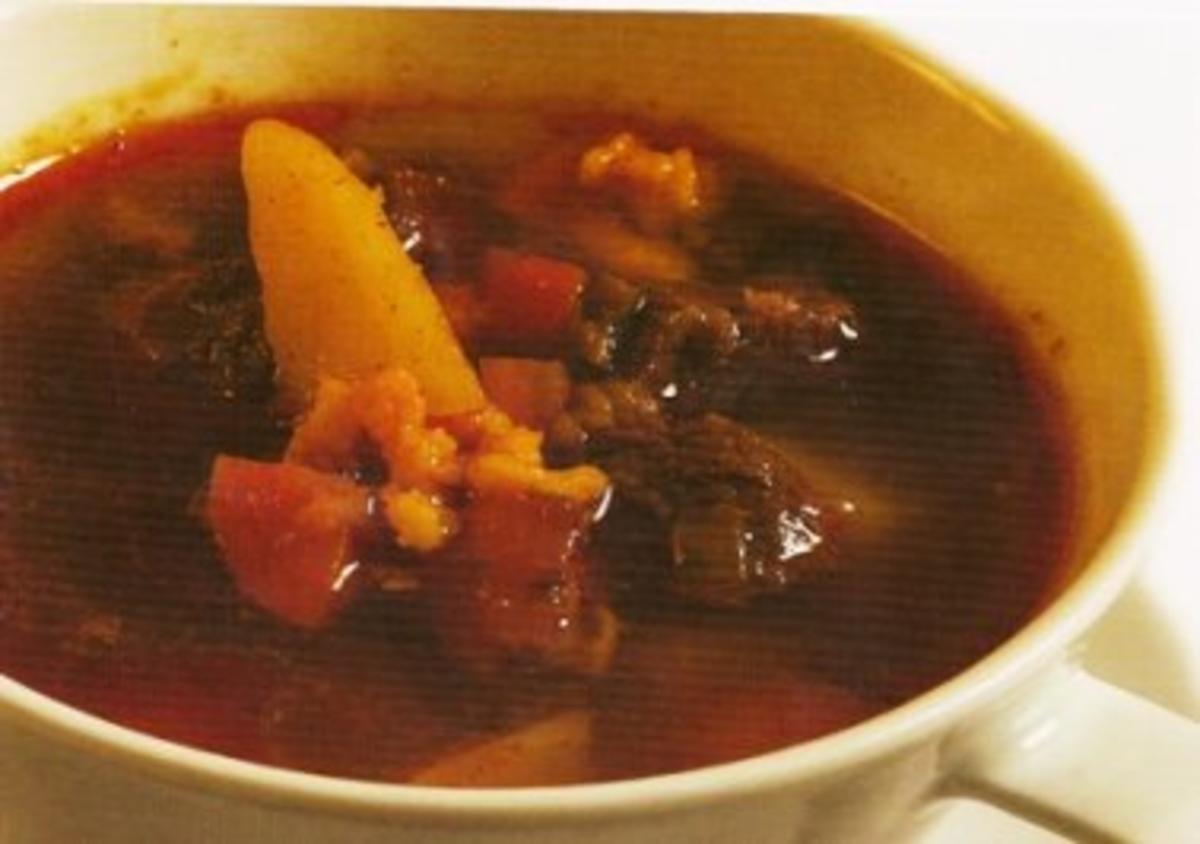 Original ungarische gulaschsuppe rezept for Ungarische gulaschsuppe