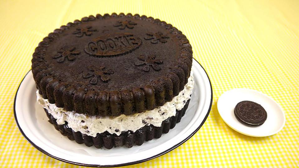 Oreo Kuchen Rezept Mit Videoanleitung Kochbar De