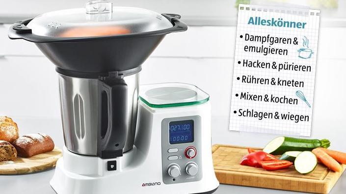 Aldi Küchenmaschine Ambiano 2021