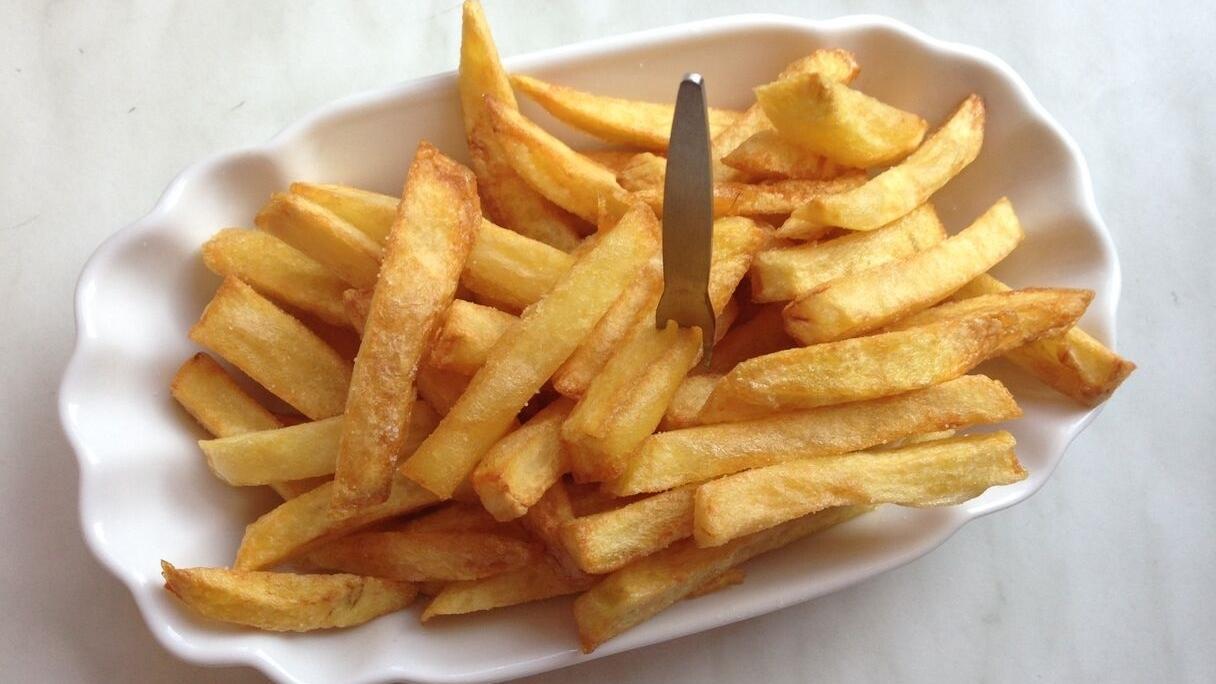 original belgische fritten belgische pommes frites rezept mit video. Black Bedroom Furniture Sets. Home Design Ideas
