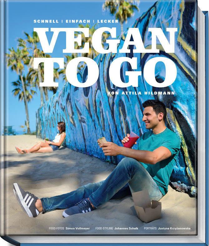 39 vegan to go 39 schnelle vegane rezepte von attila hildmann. Black Bedroom Furniture Sets. Home Design Ideas