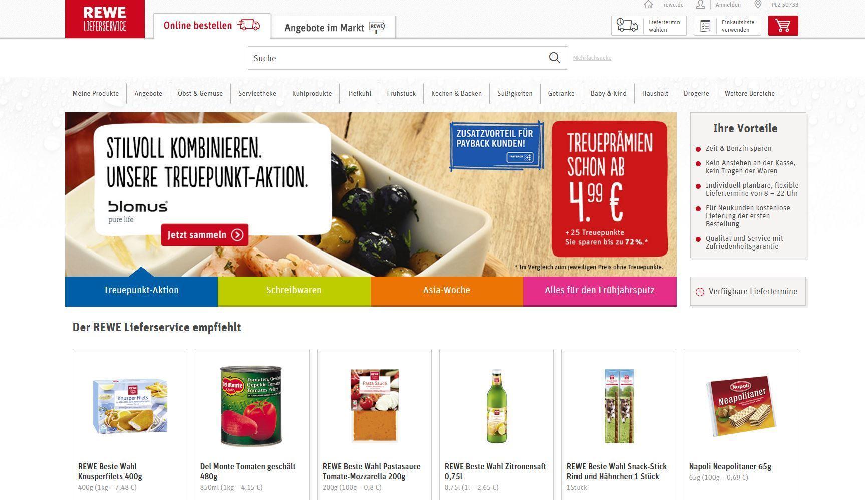 lebensmittel online kaufen online superm rkte im praxis test. Black Bedroom Furniture Sets. Home Design Ideas