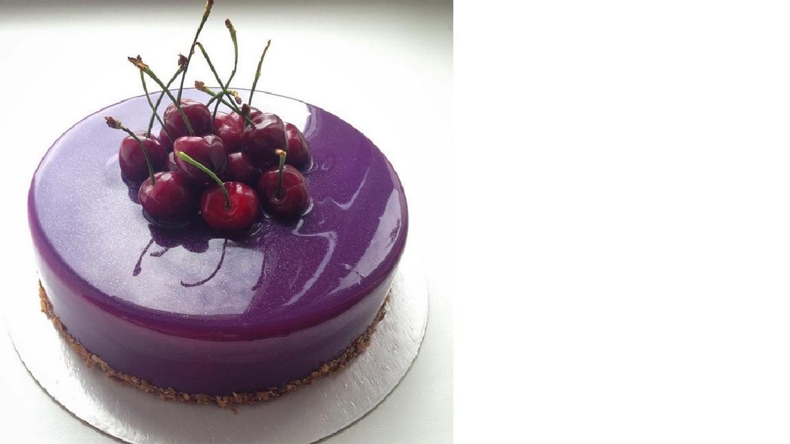 farbige hochglanz kuchen, glänzende tortenglasur: hochglanz-gel verwandelt kuchen und torten, Design ideen