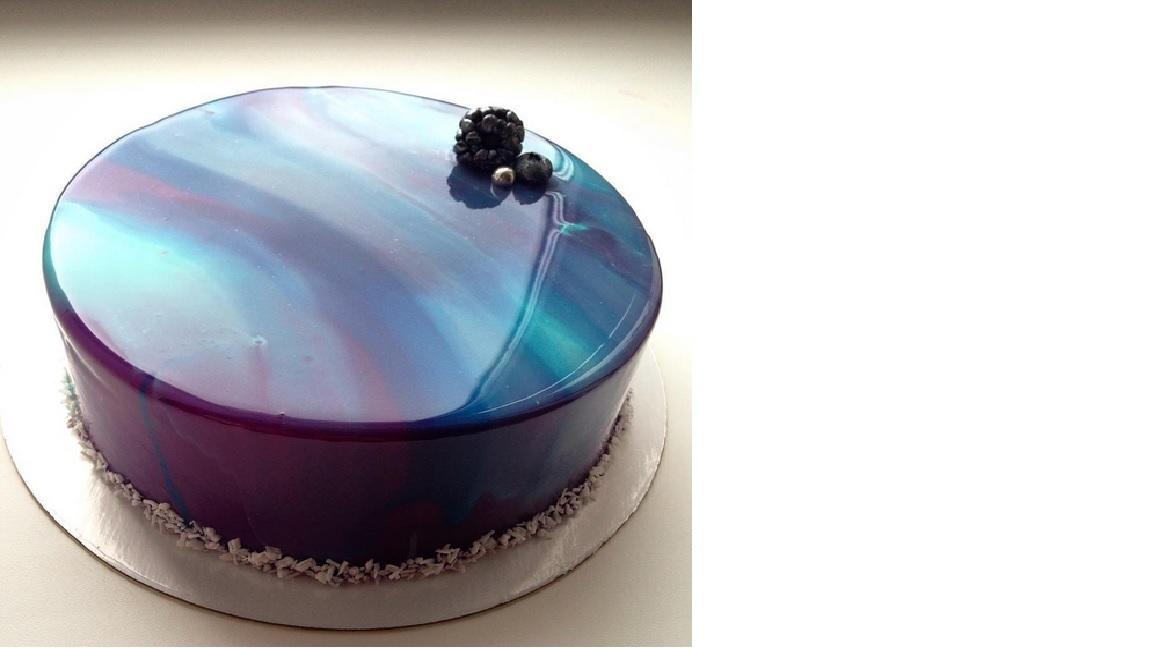 Glanzende Tortenglasur Hochglanz Gel Verwandelt Kuchen Und Torten