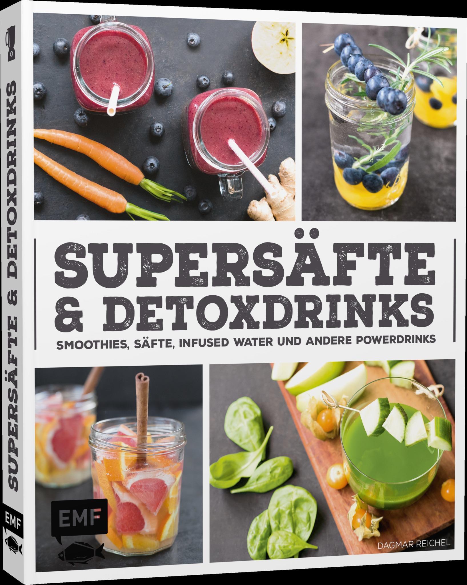 Supersäfte und Detoxdrinks