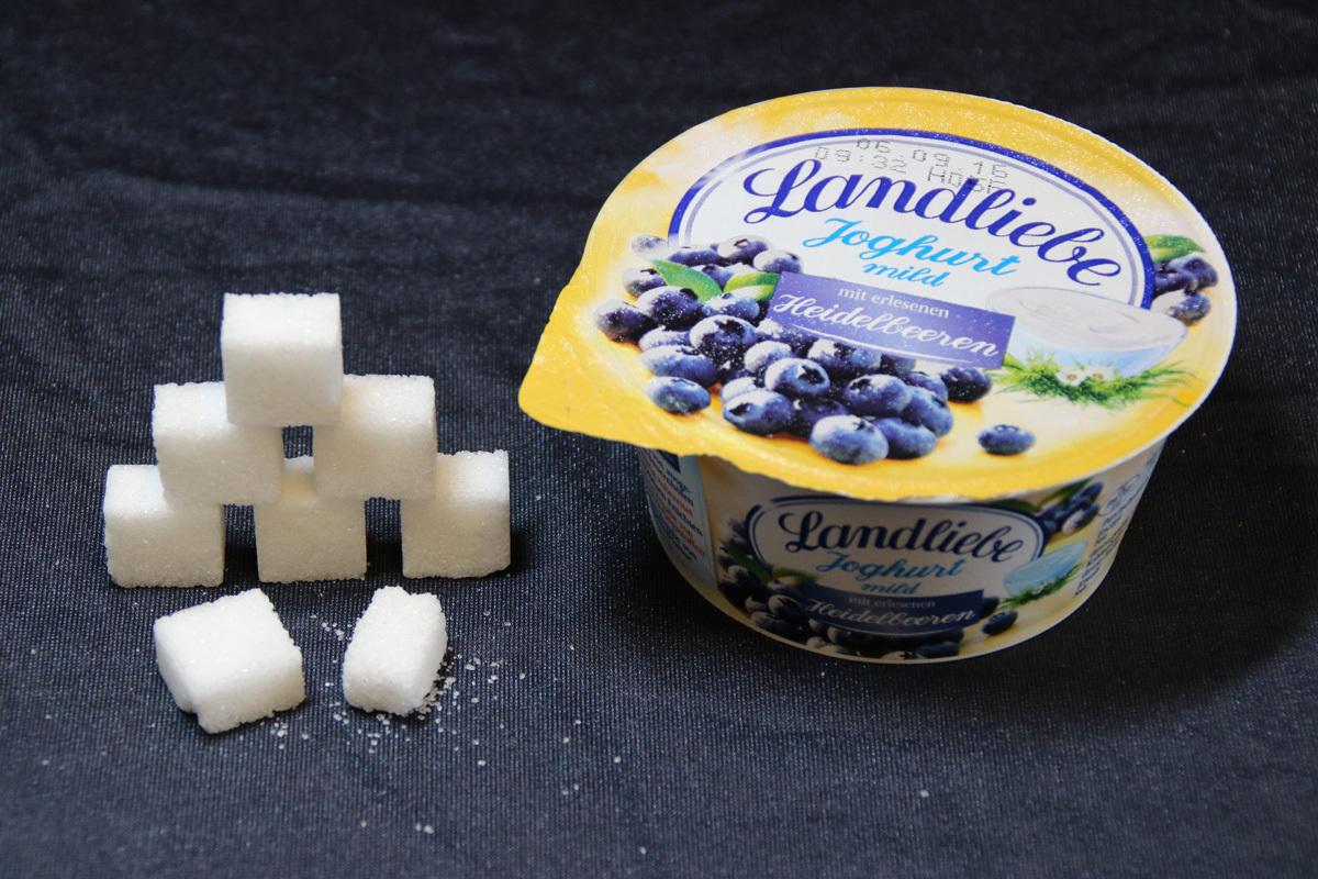 Holzspäne Im Joghurt