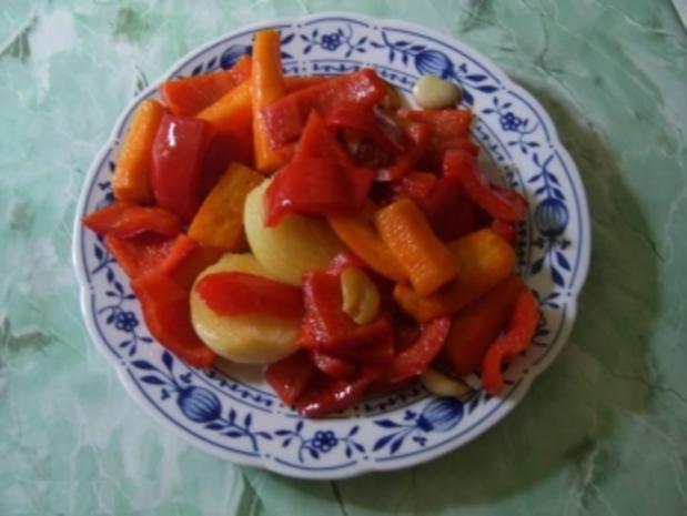 Paprika- Schweinegulasch mit Knoblauch - Rezept - Bild Nr. 4