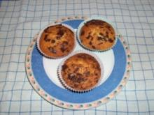 Marzipan-Sahne-Muffins - Rezept