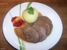 Rehbraten - Rezept