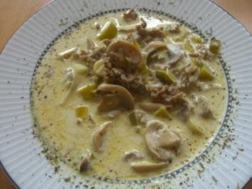 Käsesuppe - Rezept