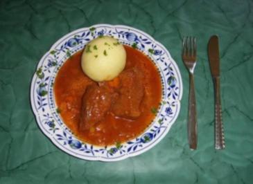 Rezept: Rindfleisch in süßsaurer Soße mit Gemüse