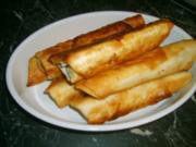 Zigaren- Börek - Rezept
