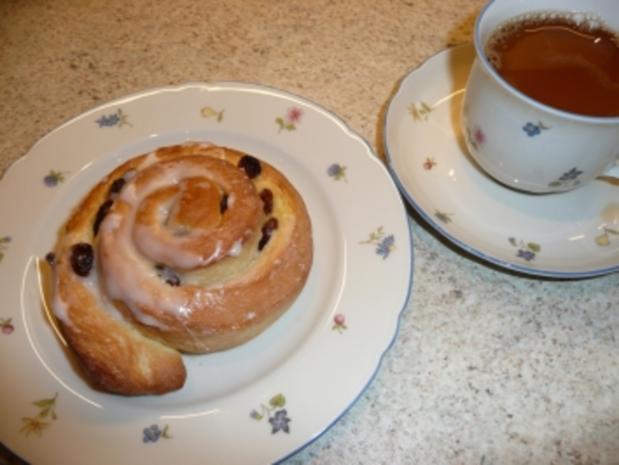 Rosinenschnecken - Rezept
